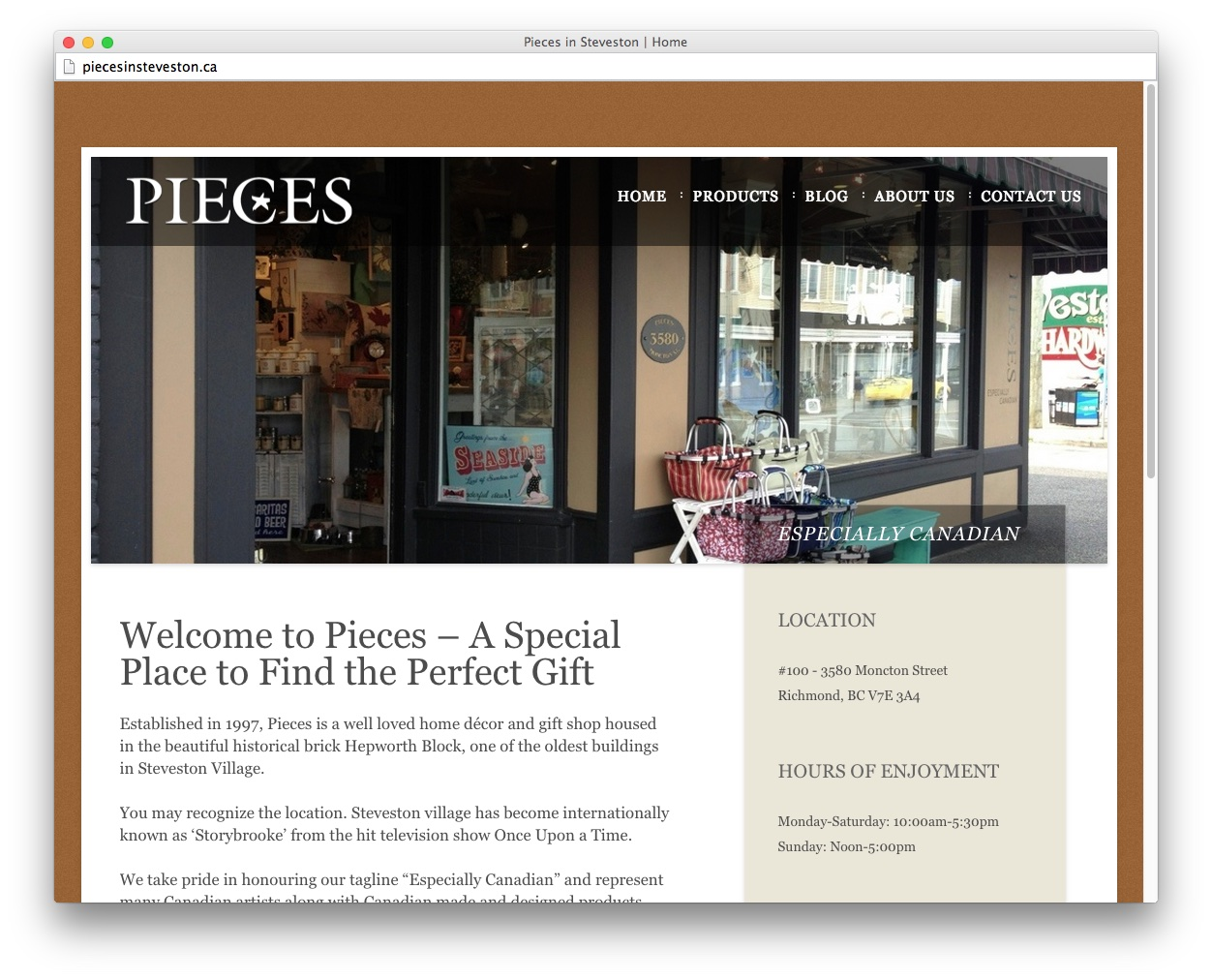 Pieces in Steveston